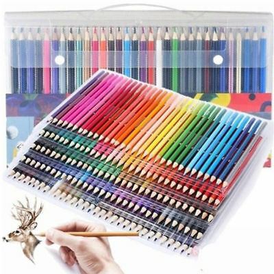 Assorted Colors Watercolor Pencils Arist Set Colored Drawing Coloring Painting