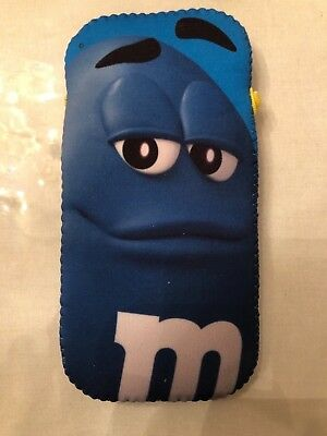 M&M's Phone Sleeve Collection - Blue - NIB