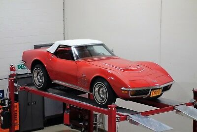 1972 Chevrolet Corvette Convertible, LT1 4 Speed, Original Paint Survivor! 1972 Chevrolet Corvette LT1 Convertible 4 Speed Low Mileage Documented Survivor!