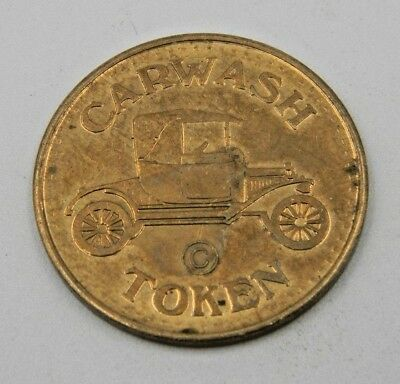 VINTAGE CAR WASH TOKEN COIN NO CASH VALUE Carwash