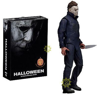 """NECA Halloween - 7"""" Scale Action Figure - Ultimate Michael Myers 2018 Movies toy"""
