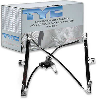 TYC Front Right Power Window Motor and Regulator Assembly for 2004-2007 sb