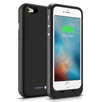 For iPhone 6/6s/7/8 External Battery Charging Case Power Bank Charger Cover USA