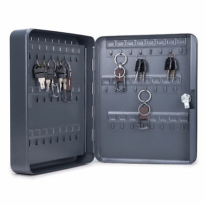 Carbon Steel Key Cabinet Storage Box Organizer for Keys with Mechanical