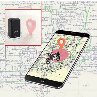 GF07 Mini GPS Real Time Car Locator Tracker Magnetic GSM/GPRS Tracking Device FK