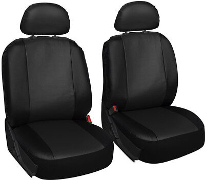 Front Car Seat Covers Fashion Style High Back Bucket Car PU Seat Cover 2PCS