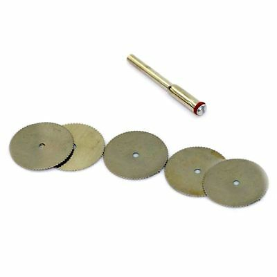 5X(22mm Disc Wheel Cutting Blade Wood Saw for Drill Multi Rotary Tool G9N2)