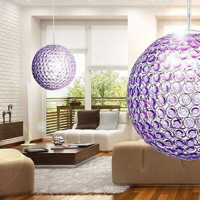 Acrylic Crystal Ceiling Light Hanging Lamp 6 Watt Led Lighting 400x1650 mm
