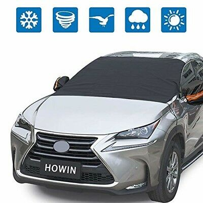 Windshield Cover Car Windshield Cover for Snow Ice with Mirror Covers + 4