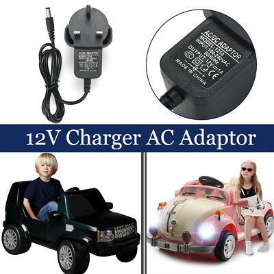 12V 1A Ride On Car Charger AC Adapter For Kids Electric Ride On Car Bike Scooter