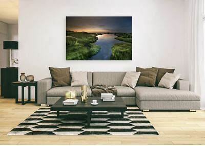 BEAUTIFUL COLORFUL SCENERY ART  HIGH QUALITY Framed Canvas  choose your size