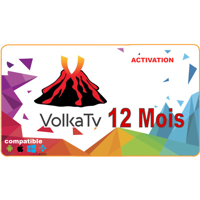 volka pro  PRO2 H.265, 12 months code and M3U Smart TV,android box, MAG