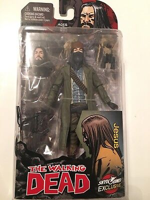 WALKING DEAD Color JESUS ACTION FIGURE SKYBOUND EXCLUSIVE MJ Limited Edition