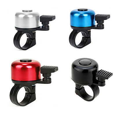 New One Touch Ping Bicycle Bike Bell Loud Ping Bell Bicycle Cycling Clip Bells