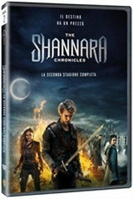 The Shannara Chronicles - Stagione 2 (4 DVD) - ITALIANO ORIGINALE SIGILLATO -