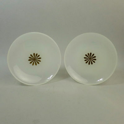 A Fine Pair Of Antique Opaque Glass Ice Plates French C.1880