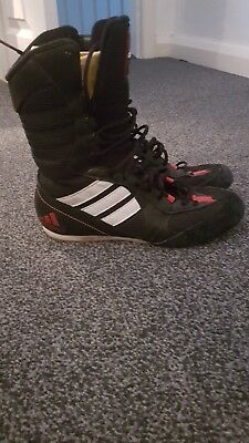 Adidas Tygun Womens Lightweight High Hi Top Boxing Boots Trainers Size 5 5434af4a6