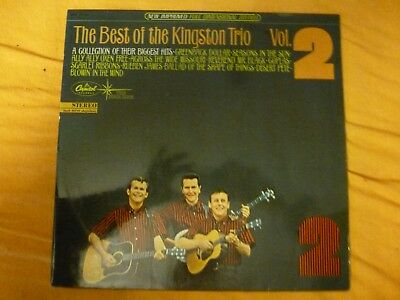 THE KINGSTON TRIO the best of vol. 2 LP Capitol Rec. GER 1965 Rare FOLK !!!