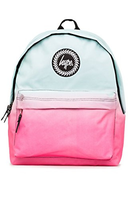 2e54b88a9 Hype Backpack Rucksack School Bag for Girls Boys | Mint Pink Fade | Ideal  P.E