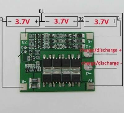 3S 20A Li-ion Lithium Battery 18650 Charger PCB BMS Protection Board Cell 1 N6V1