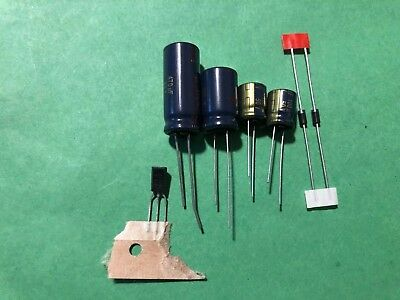 UPGRADE POWER SUPPLY Capacitors to Repair / Refurbish CARVER