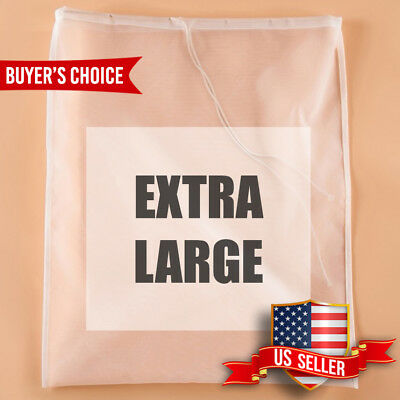 Nut Milk Bag Nylon Extra Large Reusable Food Strainer Tea Juice Pulp Filter