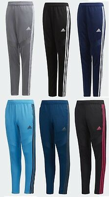 NEW Adidas Youth Boy's Athletic Tiro 17 Soccer Training Pants Slim Fit Sweatpant