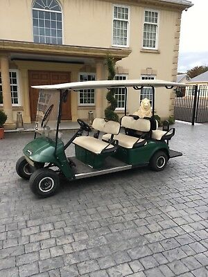Ezgo 6 Seater Golf Buggy comes With New Batteries Ex National Trust Electric Pow