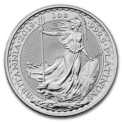 2019 Great Britain 1 oz Platinum Britannia BU - SKU #182627