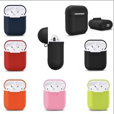 Apple AirPods Case Cover Silicone Protective Skin *CANADIAN SELLER*