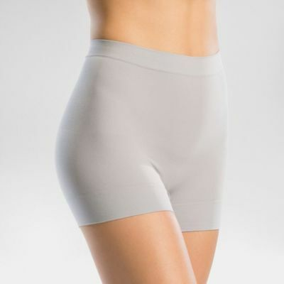 2ea8a77cc1b35b NEW WITH TAGS Assets Spanx Shaping Girl Short #10025R Wisteria Gray(L)