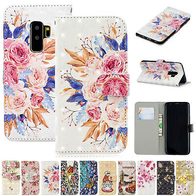For Samsung Galaxy J3 J7 J5 Pro Case Magnetic Flip Leather Card Slot Stand Cover