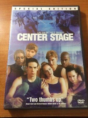 Center Stage (DVD, Special Edition) Peter Gallagher, Zoe Saldana...A