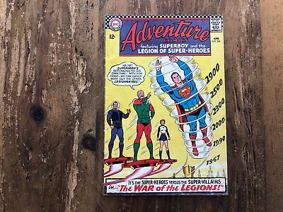 ADVENTURE COMICS #355 | SUPERBOY & LEGION OF SUPER-HEROES | DC | 1967 i