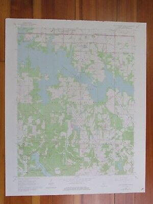 Crab Orchard Lake Illinois 1978 Original Vintage USGS Topo Map