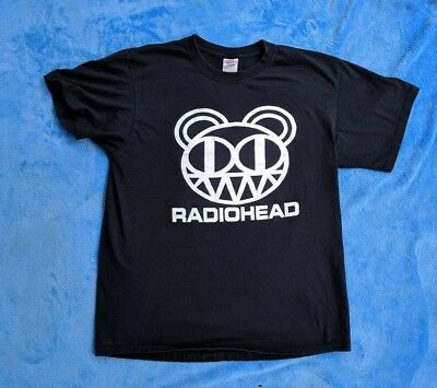 RADIOHEAD Large T-shirt Alternative Rock
