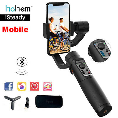 iSteady 3-Axis Mobile Smartphone Gimbal Stabilizer For iPhone X 8 XS Samsung HTC