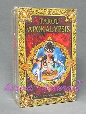TAROT APOKALYPSIS Card Deck & Book Kit - by Dunne & Huggens - NEW