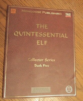 Dungeons and Dragons 3rd ed. The Quintessential Elf Collector's Series