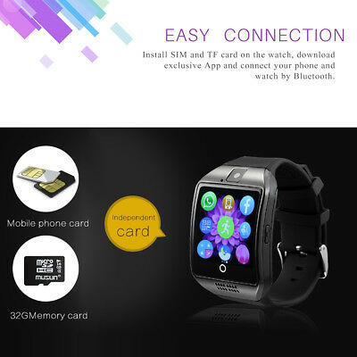Men Women Bluetooth Smart Wrist Watch Sport Office PhoneMate Use For Android&IOS