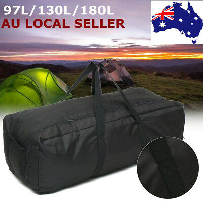AU Large Duffle Bag Folding Travel Luggage Handbag Backpack Camping 97/130/180L