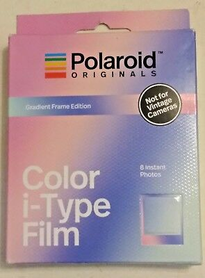 Polaroid Originals GRADIENT Frame Color Instant Film for i-Type OneStep 2 camera