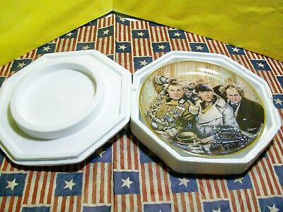The Three Stooges Franklin Mint Collector Plate