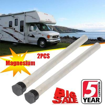 For Suburban 232767 RV-Camper Water Heater Replacement Magnesium Anode Rod 2PACK