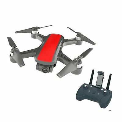 C-Fly WiFi GPS FPV RC Drone Quadrirotore 2 Assi Gimbal 1080P HD Camera, ROSSO