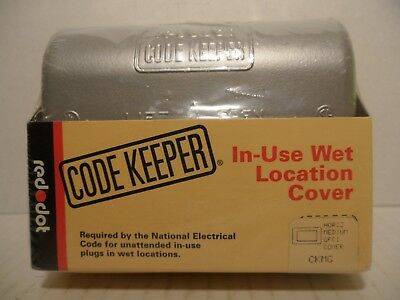 Red Dot Code Keeper GFCI Cover In-Use Wet Location Cover - New & Sealed