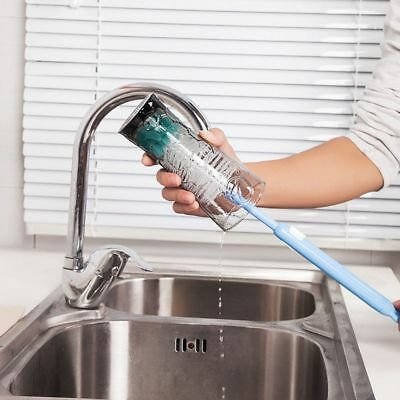 Long Foam Brush Thermos Cleaning Feeding Bottle Glass Washing Kitchen Cleaner