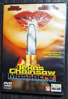 DVD Texas Chainsaw Massacre The Next Generation Multi Languages and SUBS!!