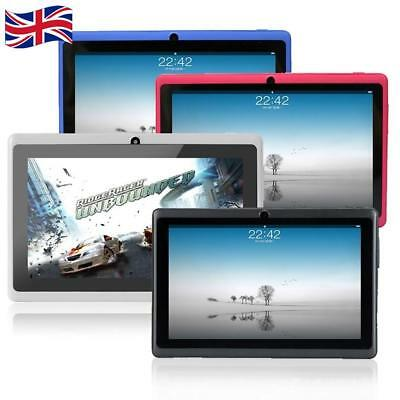 "UK 7"" Android 4.4 WiFi MediaTek 6582R 512MB+4G Quad Core GSM Camera Tablet PC"