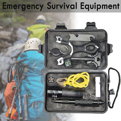 Emergency Survival Equipment Outdoor Sports Tactical Survival Hiking Camping Kit